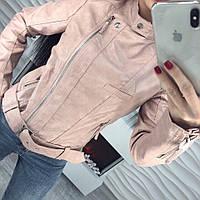 Куртка весенняя с эко-кожи, фото 1