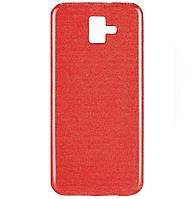Чехол-накладка TPU Shine для Samsung Galaxy J6 Plus (2018) SM-J610F Red