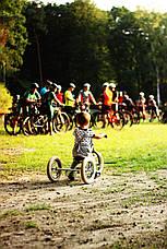 TRYBIKE - Балансирующий велосипед трехколесный, цвет оливковый, фото 3