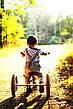 TRYBIKE - Балансирующий велосипед трехколесный, цвет оливковый, фото 5