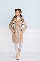 Кашемировое пальто для девочки, фото 1