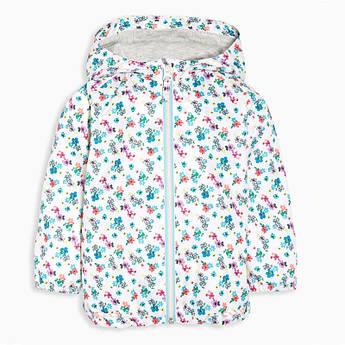 Куртка для девочки Цветы Jumping Beans 46844. Весенняя куртка. Детская куртка на весну.
