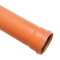 Труба канализационная наружная д.110х1м SN4 (3,2) Акведук