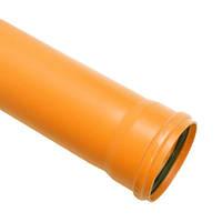 Труба канализационная наружная д.110х2м SN2 (2,2) Evci