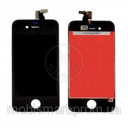Дисплей (Lcd) iPhone 4 black +touchscreen high copy