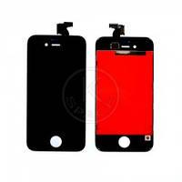 Дисплей (Lcd) iPhone 4S black +touchscreen high copy