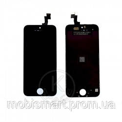 Дисплей (Lcd) iPhone 5S,SE black +touchscreen high copy