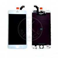 Дисплей (Lcd) iPhone 6 Plus white +touchscreen high copy