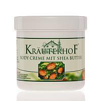 Крем для тела с маслом  дерева Ши Krauterhof Германия 250 мл.