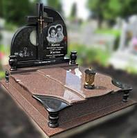 Эксклюзивный двойной гранитный надгробный памятник  Модель  D-01