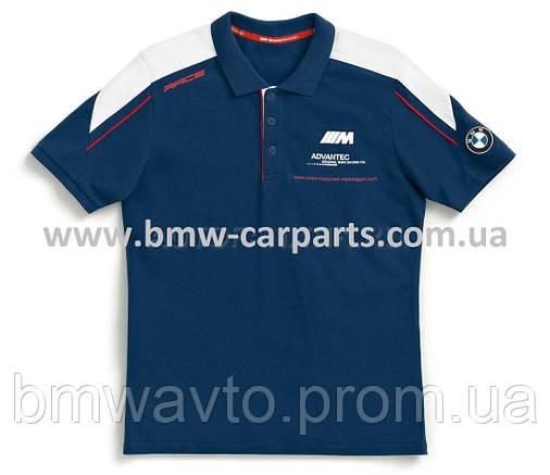 Мужская футболка-поло BMW Motorrad Motorsport Polo-shirt 2019, фото 2