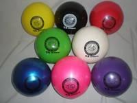 Мяч для художественной гимнастики d-19 (400гр)