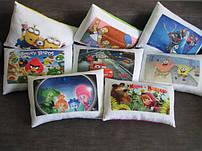 Декоративные подушки с фото фильмов, мультфильмов, компьютерных игр