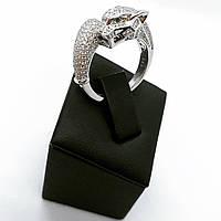Кольцо из серебра 925 Beauty Bar в стиле картиер модель пантера (17-18,5 размеры), фото 1