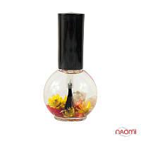 Naomi Цветочное масло для кутикулы и ногтей Ваниль, 15 мл