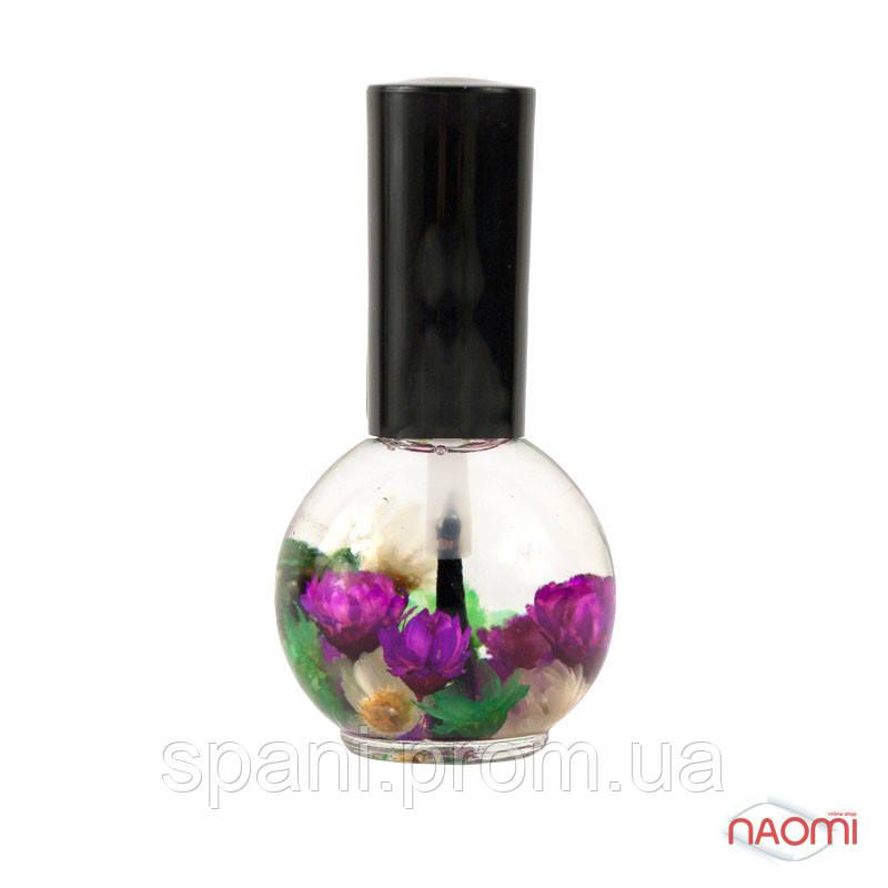 Naomi Квіткове масло для кутикули і нігтів Лаванда, 15 мл