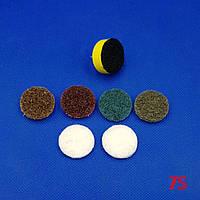 Набор шлифовальный д. 25 мм для деликатной обработки цветных и черных металлов - Scotch-Brite™ SC-DH
