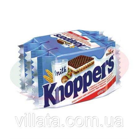 Вафли молочно-ореховые Knoppes Германия