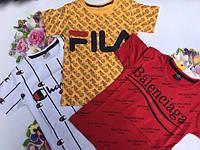 Футболка модная FILD для мальчика от 98 до 152 рост., фото 1