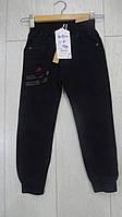 Черные котоновые джоггеры для мальчиков малюток,разм 1-5