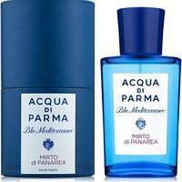 Парфюмированная вода унисекс Acqua di Parma Blu Mediterraneo Mirto di Panarea, 75 ml