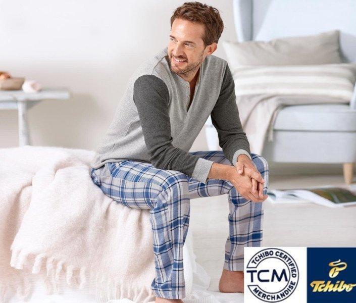 Хлопковая мужская пижама от тсм Tchibo (Чибо), Германия, размер ХЛ