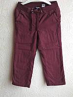 Брюки-штаны Lupilu на подкладе бордовые 92 рост