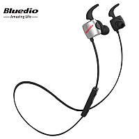 Наушники беспроводные Bluedio TE Sport с микрофоном (черные)