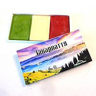 Подарочный набор мыла ручной работы Закарпатье