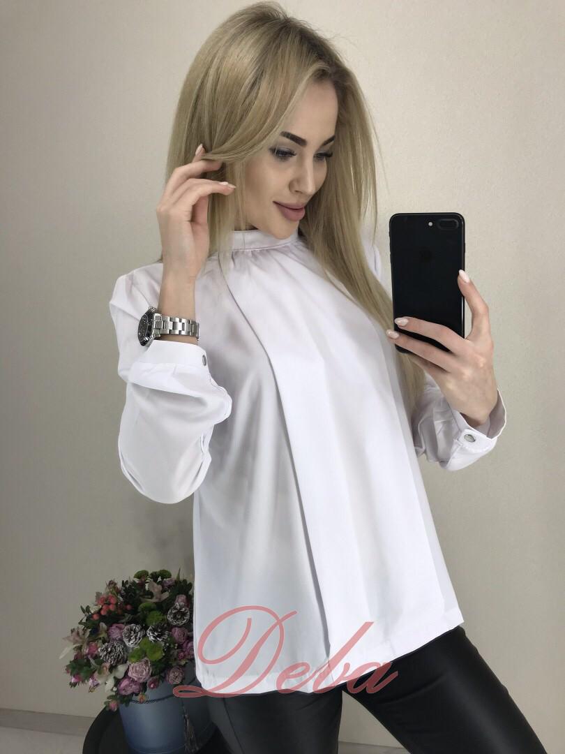Оригинальная блузка с пуговицами