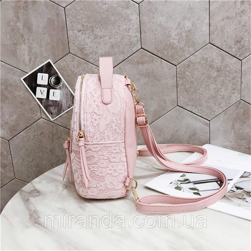 4a1652a171b2 Рюкзак сумка женский с кружевной отделкой (белый), цена 699 грн., купить в  Киеве — Prom.ua (ID#910214673)