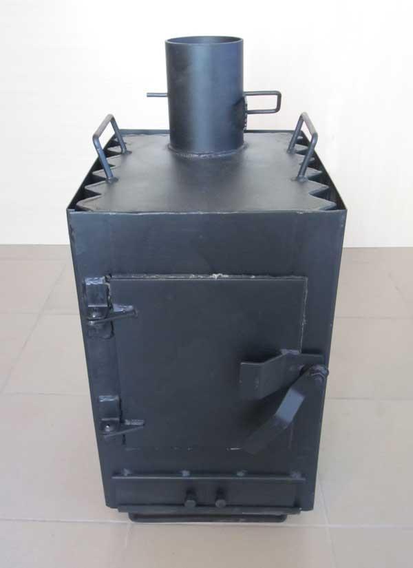 Печка буржуйка Теплун