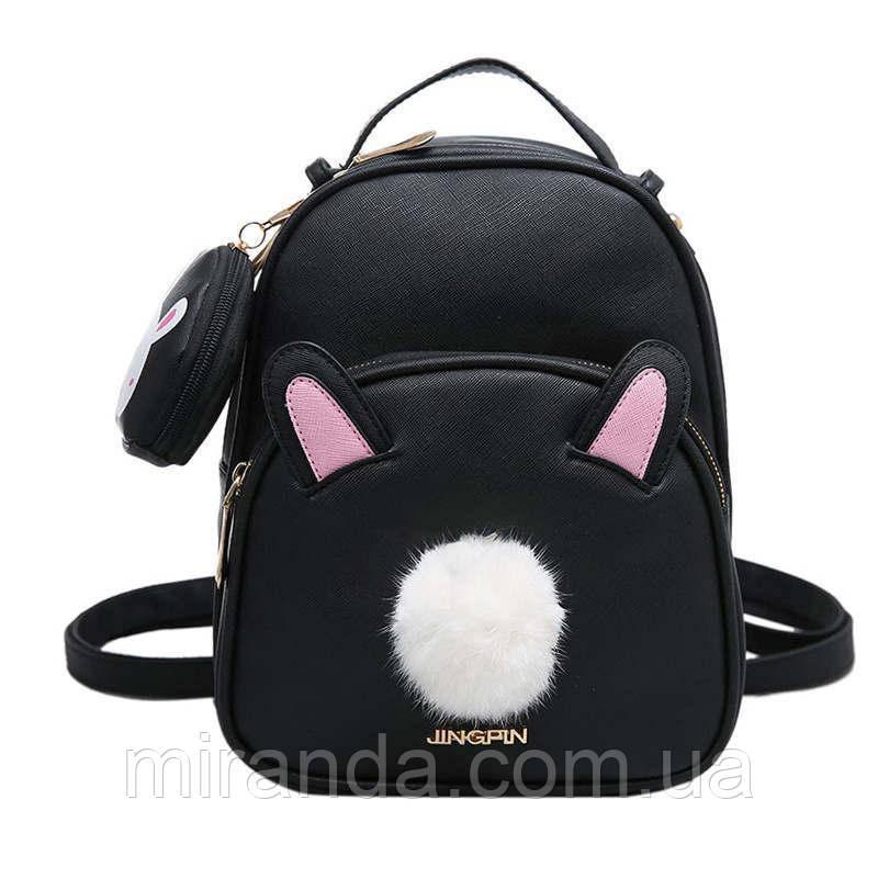 fa4c3c4d6852 Рюкзак женский для девушек, девочек из экокожи Зайчик - Интернет-магазин  «Miranda»