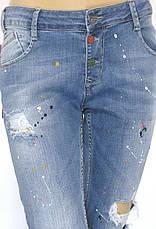 Жіночі джинси з оригінальним принтом Dsquared 2, фото 3