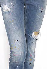 Жіночі джинси з оригінальним принтом Dsquared 2, фото 2