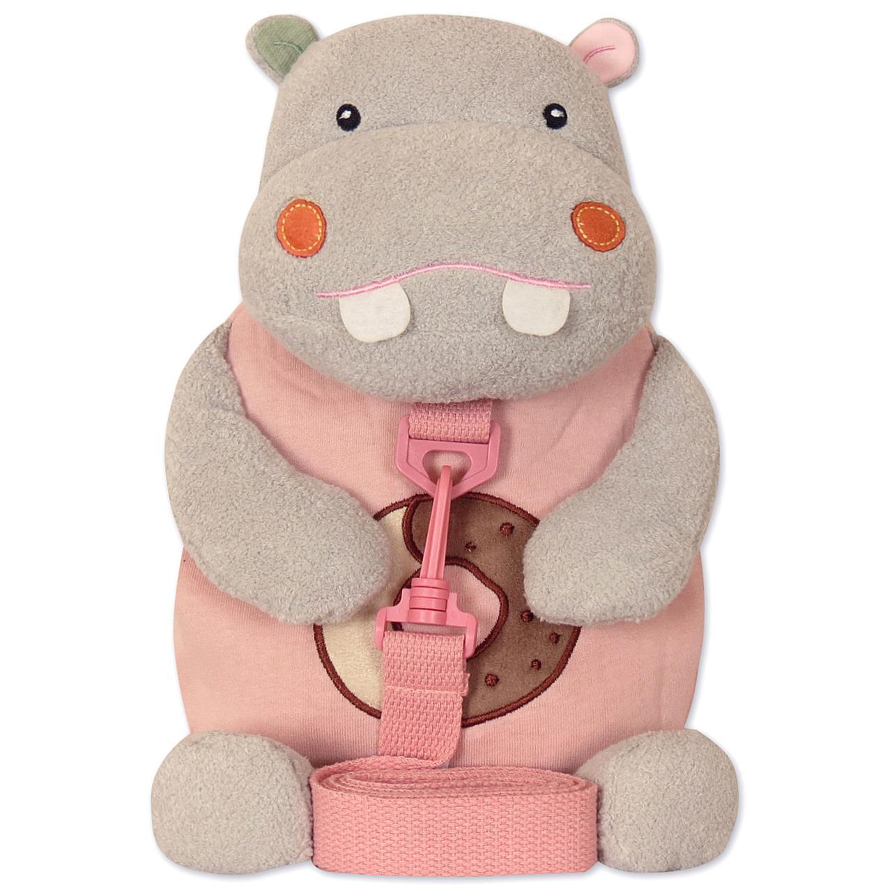 Детский рюкзак - Бегемот - сладкоежка Metoo. рюкзак игрушка