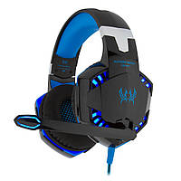 Наушники Kotion Each G2000 Black/Blue (G2000BB)