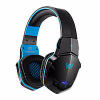 Наушники Kotion Each B3505 Bluetooth Black/Blue (B3505BB)