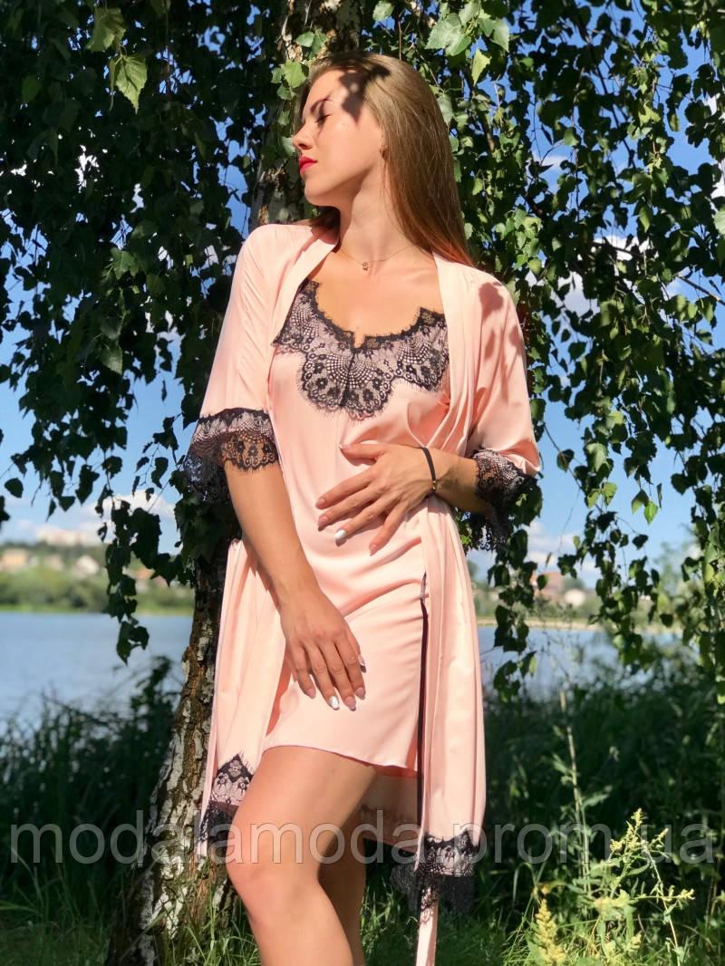 Пеньюар женский с халатиком