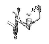 Гранитная мойка Alveus CUBO 30 A16M antrazit-metalic 78*50, фото 5