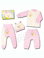 """Детский комплект для новорожденных в подарочной упаковке """"Пчёлка"""""""
