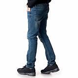 Мужские джинсы Franco Benussi 18-102 тинт синие, фото 2