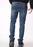 Мужские джинсы Franco Benussi 18-102 тинт синие, фото 3