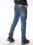 Мужские джинсы Franco Benussi 18-102 тинт синие, фото 5
