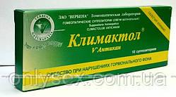 Климактол Антикан, Гомеопатические суппозитории , 10 шт