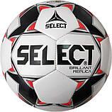 Мяч футбольный для детей SELECT BRILLANT REPLICA (размер 3), фото 2