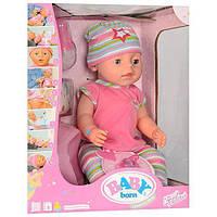 Интерактивная кукла Baby Born BL020L-S 42 см, 8 функций с аксессуарами , фото 1