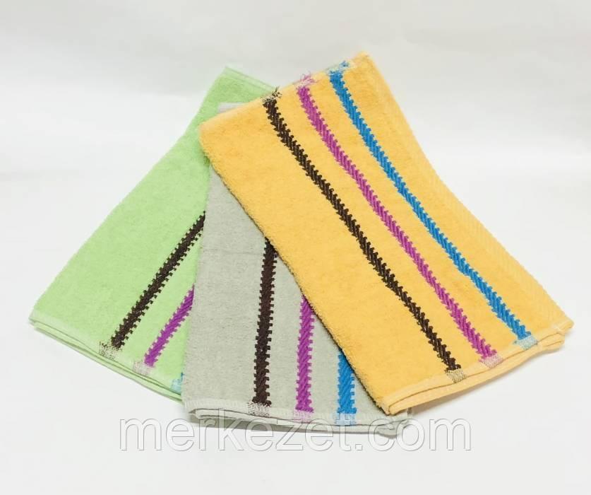 """Полотенце махровое. Махровые полотенца """"Квадратик"""" для кухни"""