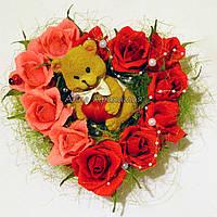 """Сердце из конфет """"Влюбленное сердце"""" (мини)"""