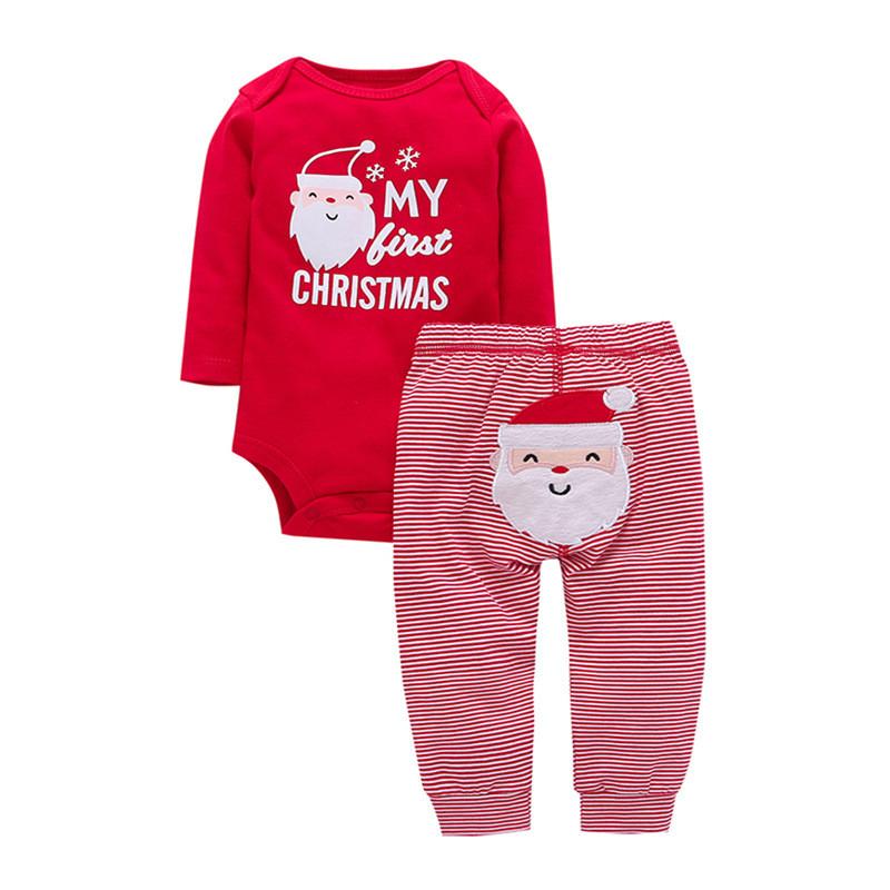 Комплект детский 2 в 1 Санта Клаус